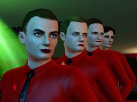 Kraftwerk in Sims 3 by mechpuppe82