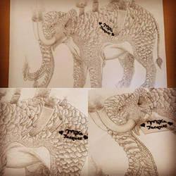 mechanical elephant by mika525