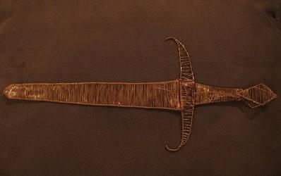 Wire dagger by Jess-9000
