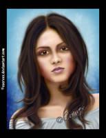 Victoria Justice portrait by Cuervex