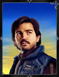 Cassian Andor Portrait by Cuervex