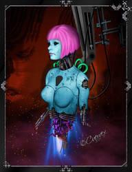 Broken Droid by Cuervex