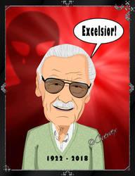 Stan Lee by Cuervex