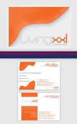 orange business card by DesignersJunior