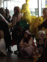 Chocobo Cosplay by sharkyjr