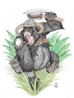 Battle Ape by J-Ian-Gordon
