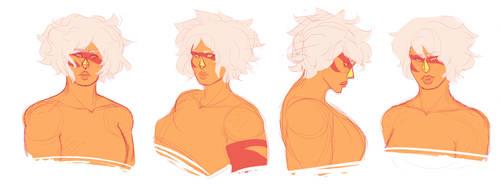 Jasper Sketch Bust Shots by ruruscube