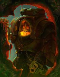 Cataphractii Terminator by ackelb