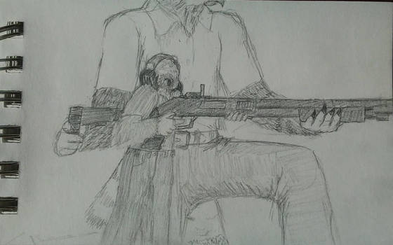 Gun handling by Woestijn-Uil