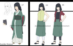 Naruto OC: Sumiko Homuri by JustSher