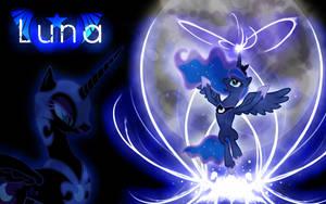 Princess Luna Wallpaper V.1 by Arakareeis