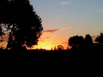 sunset in waikuku by bergamont27
