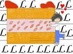 L love his cake by WolvesAngelSiren