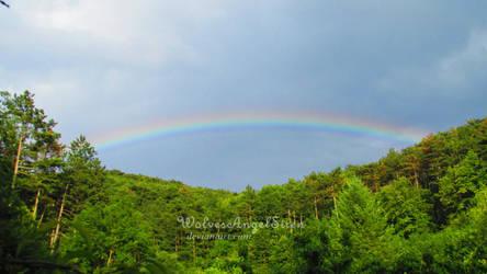 rainbow by WolvesAngelSiren