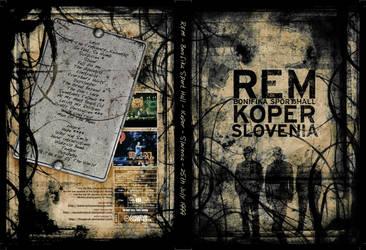 REM - Slovenia 1999-07-25 DVD by Sibko