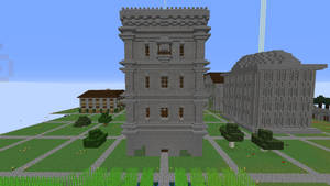 Incomplete warehouse in Dream Citadel by crimsonvermillion
