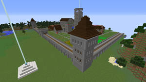 Dream Citadel Gaurd Tower by crimsonvermillion