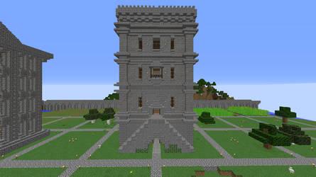 Dream Citadel Storage Warehouse tower. by crimsonvermillion