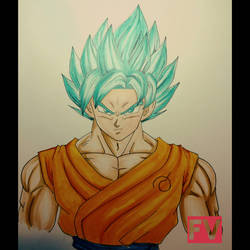 Dragon Ball Super - Goku SSJB by FVentura
