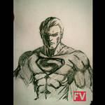 Superman sketch by FVentura