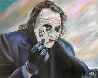 the joker by iconicarts
