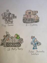 Metal Slug doodles (1-22-16) by Sparrow26657