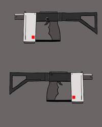 AP - Mecha Gun design (Illustration assignment) by Sparrow26657