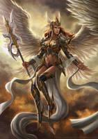 Queen of Heaven by HappySadCorner