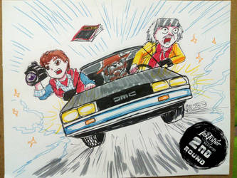 MASHUPROUND 2 - Cinema Day 09 - Back to the Future by ScarletJewelCV05