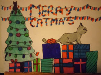 merry catmas by lostempress23