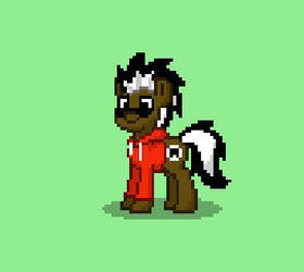 PonyTownWolfHead by WolfHeadBrony
