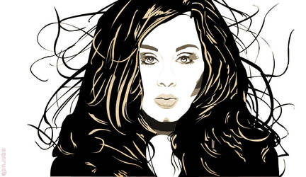 Vexel Art 001: Adele by ronjoooooooooooobe
