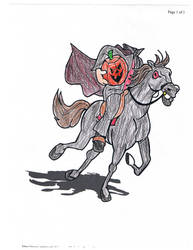 The Headless Horseman by Piratemir144