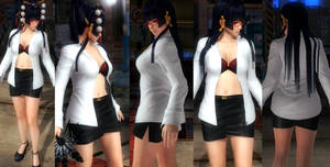Nyotengu shirt skirt by funnybunny666