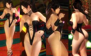 Kokoro highcut leg corset by funnybunny666