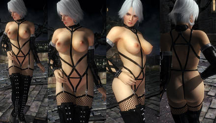 Christie Nude Harness Straps by funnybunny666