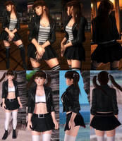 Leifang Jacket Skirt by funnybunny666