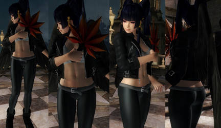 Nyotengu Jacket Pants by funnybunny666