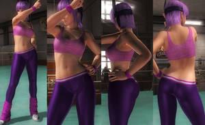 Ayane Exersice Pants by funnybunny666