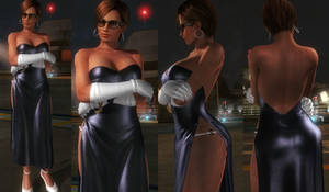 Lisa Black Dress by funnybunny666