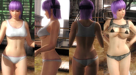 Ayane DOAX3 Fachan by funnybunny666