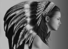 indian girl by vannenov
