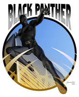 Black Panther by iskandarsalim