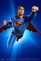 Here Comes Superman by iskandarsalim