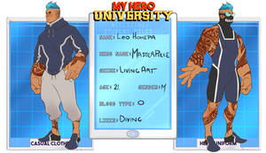 My Hero University: Leo by Chopstuff