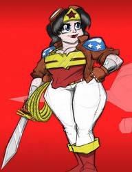 Wonder Woman by MCGriffin