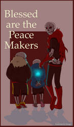 Blessed Are The Peace Makers Fanfiction Cover by Zeragii