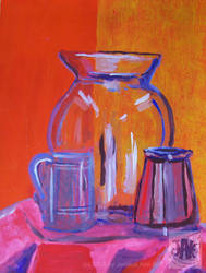 Red Glass by JAK-Zaintarians