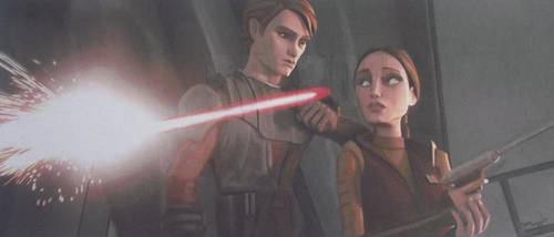 Speed Challenge 13: Anakin and Padme by Starfire-Productions