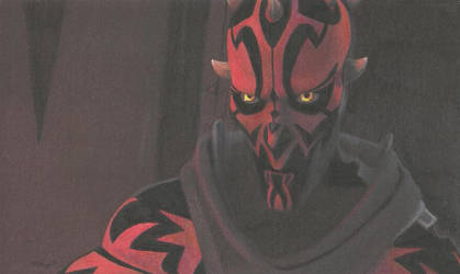 SC23 Poll Winner: Darth Maul - Old Master by Starfire-Productions
